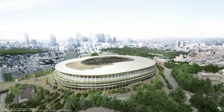 新国立競技場 出典:日本スポーツ振興センター