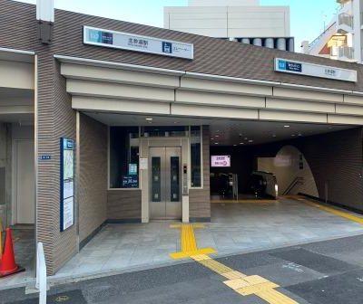 北参道駅1番出口