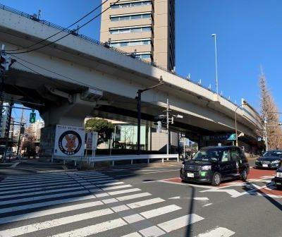 北参道駅交差点