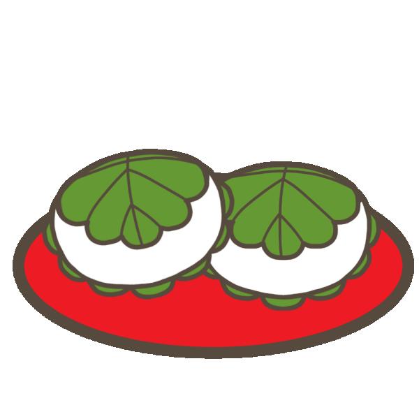 柏餅(こどもの日)